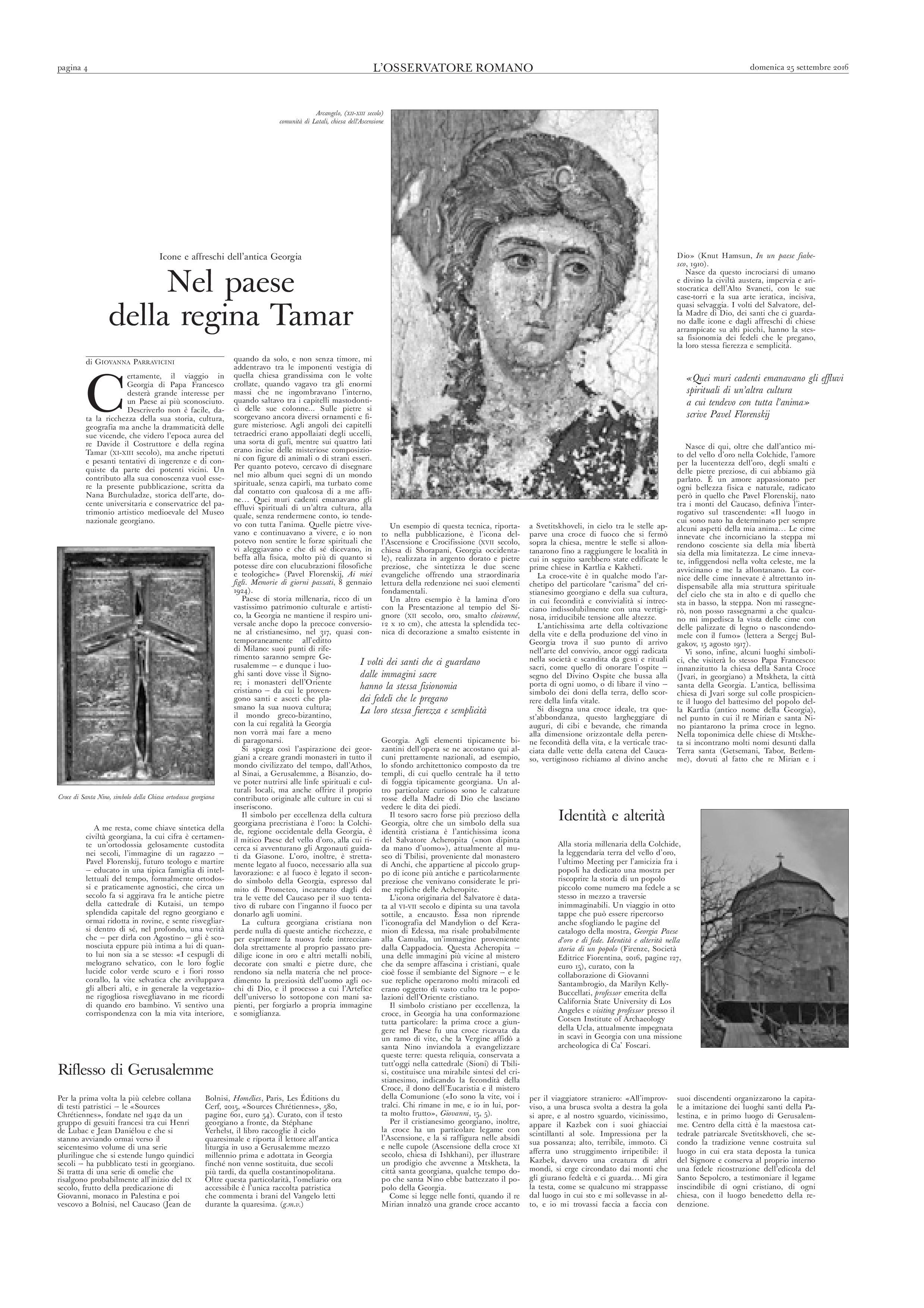 Georgia paese d 39 oro e di fede societ editrice fiorentina - Divo barsotti meditazioni ...