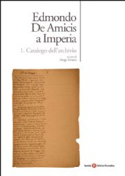 Edmondo De Amicis a Imperia. Catalogo dell'archivio
