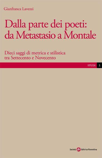 Dalla parte dei poeti: da Metastasio a Montale