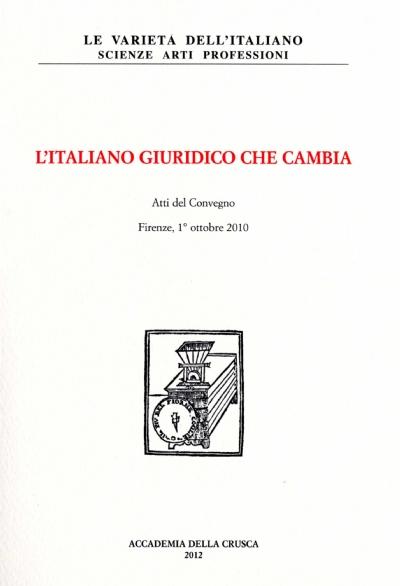 L'italiano giuridico che cambia