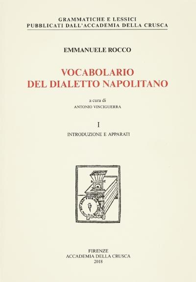 Vocabolario del dialetto napolitano