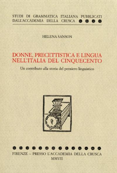 Donne, precettistica e lingua nell'Italia del Cinquecento