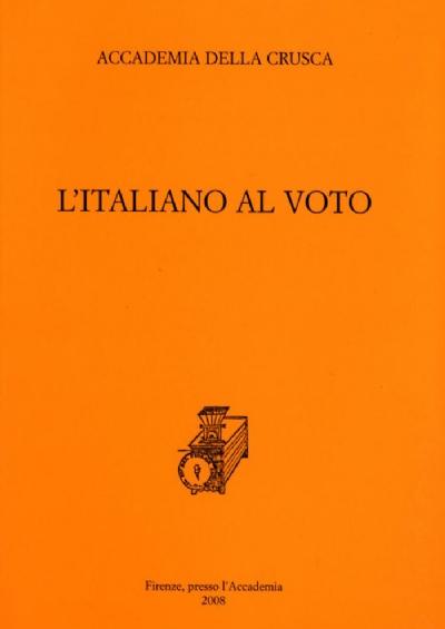 L'italiano al voto