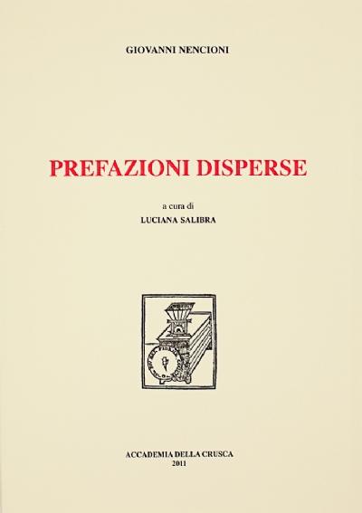 Prefazioni disperse