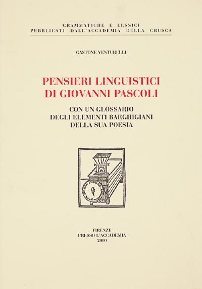 Pensieri linguistici di Giovanni Pascoli