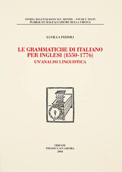 Le grammatiche di italiano per inglesi (1550-1776)