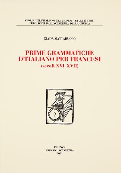 Prime grammatiche d'italiano per francesi