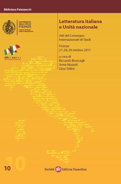 Letteratura italiana e Unità nazionale