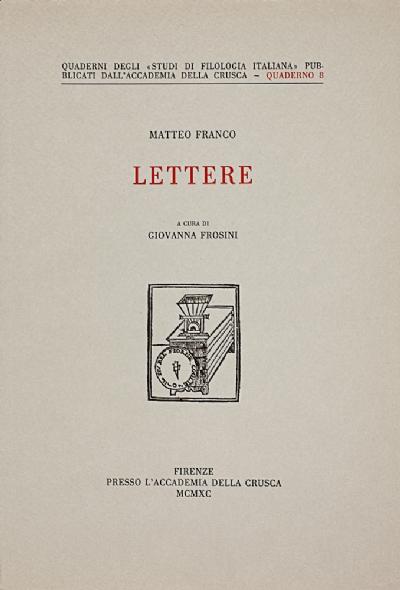 Lettere di Matteo Franco