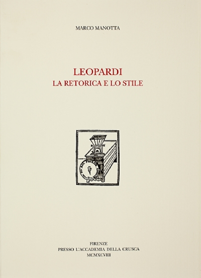Leopardi. La retorica e lo stile