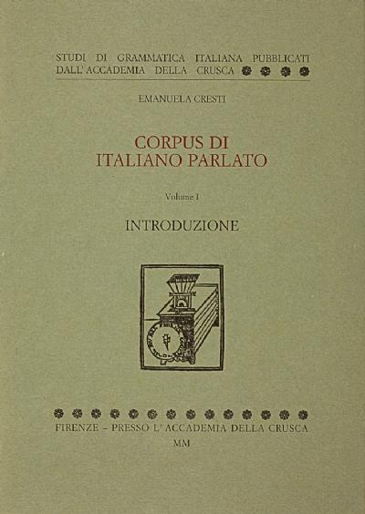 Corpus di italiano parlato
