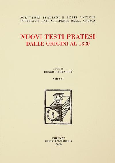 Nuovi testi pratesi dalle origini al 1320