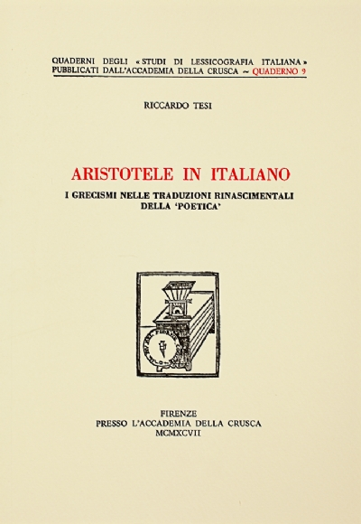 Aristotele in italiano