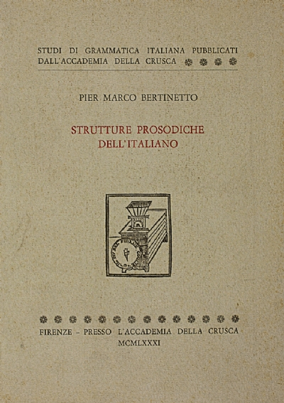 Strutture prosodiche dell'italiano