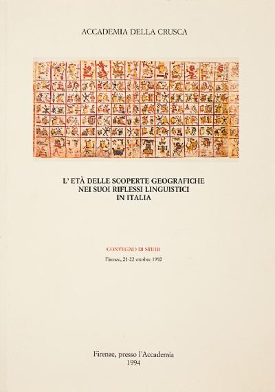 L'età delle scoperte geografiche nei suoi riflessi linguistici in Italia