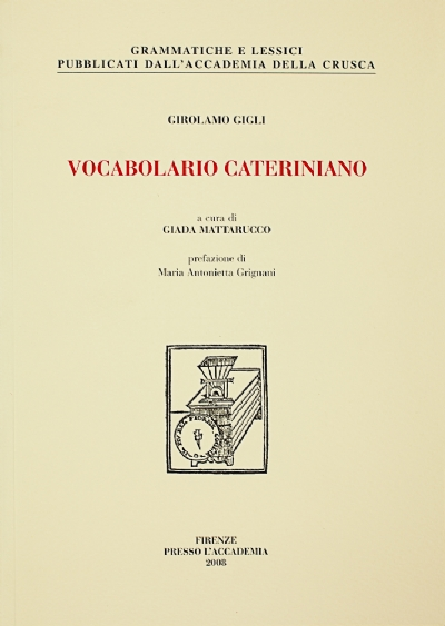 Vocabolario cateriniano