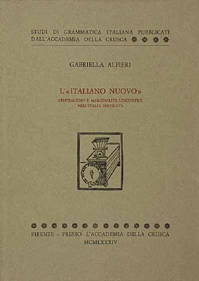 L'«italiano nuovo»