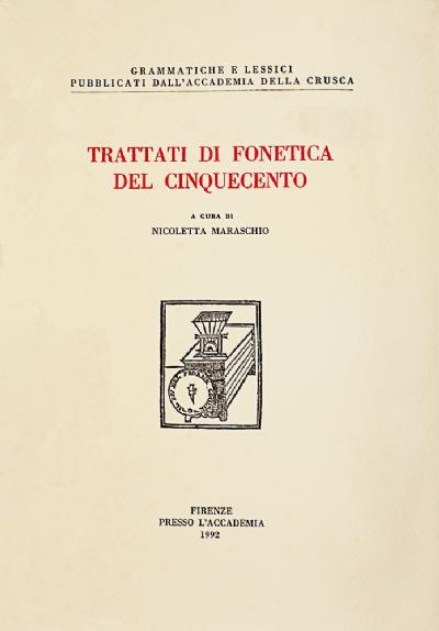 Trattati di fonetica del Cinquecento