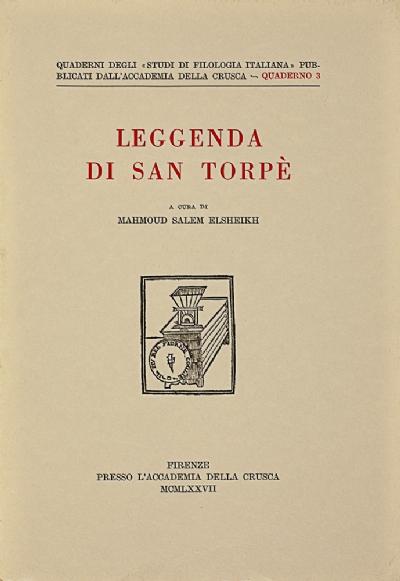 Leggenda di San Torpè
