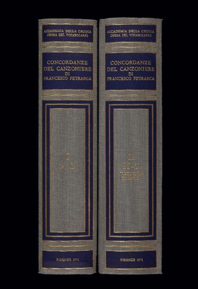 Concordanze del <i>Canzoniere</i> di Francesco Petrarca