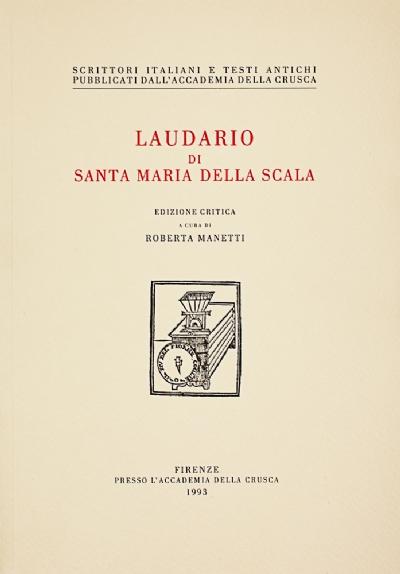 Laudario di Santa Maria della Scala