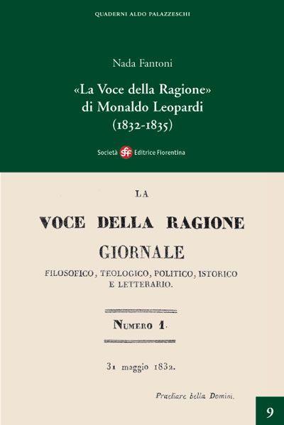 «La Voce della Ragione» di Monaldo Leopardi (1832 - 1835)