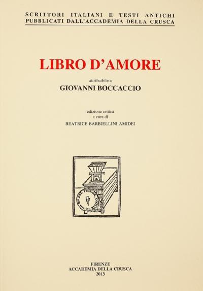 Libro d'amore attribuibile a Giovanni Boccaccio