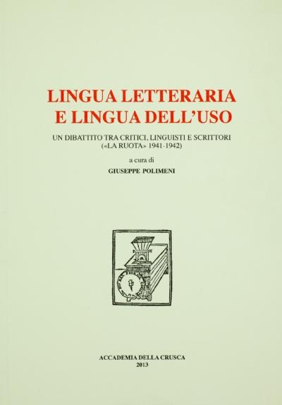 Lingua letteraria e lingua dell'uso