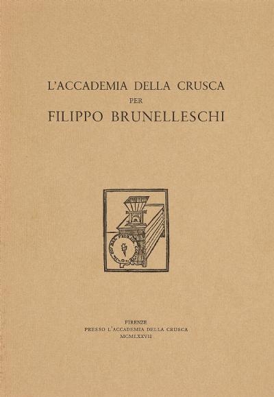Sonetti di Filippo Brunelleschi