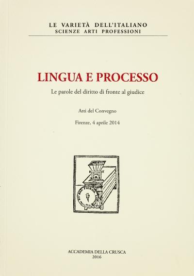 Lingua e processo
